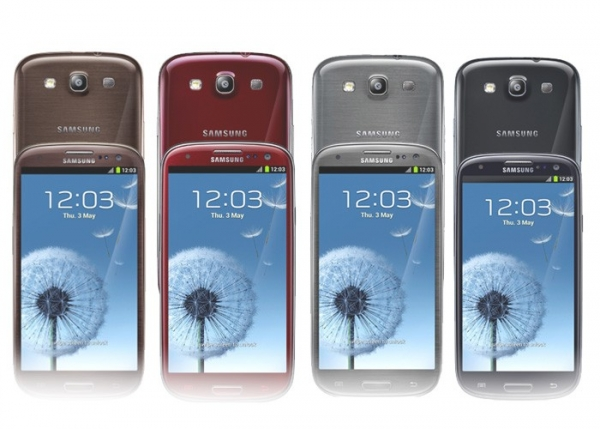 Samsung Galaxy S3 Colors