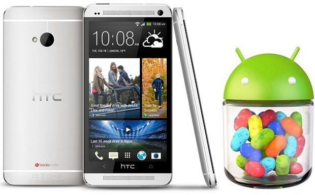 Arrivo dell' update Android 4.2.2 di HTC One