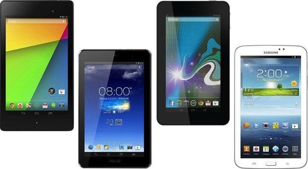 Nuovo Nexus 7 vs rivali