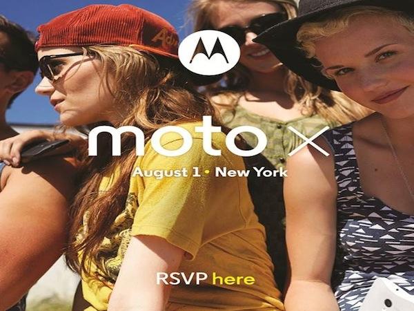 invito Motorola Moto X
