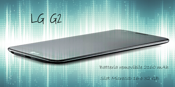 LG G2, batteria removibile e slot MicroSD