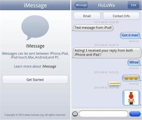 iMessage-Chat