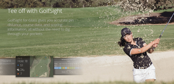 golfsight-google-glass