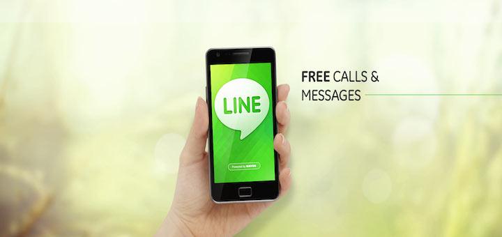 Line messaggistica