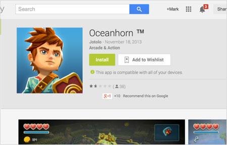 oceanhorn-play-store