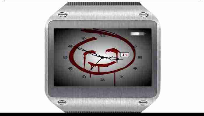 Galaxy Gear Watch Face
