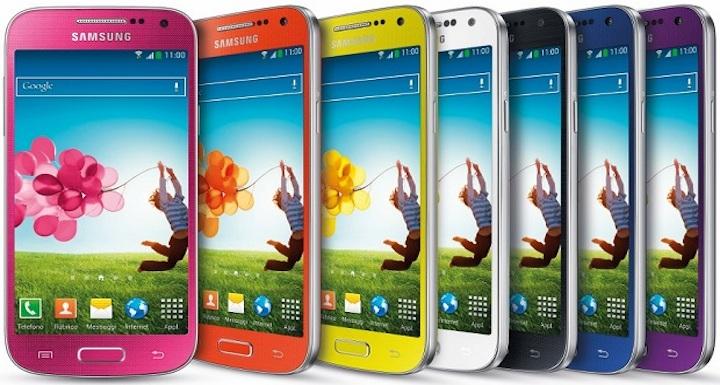 Galaxy S4 Mini colori