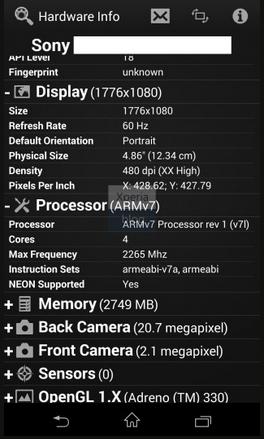 Xperia-Z1-specifiche-tecniche