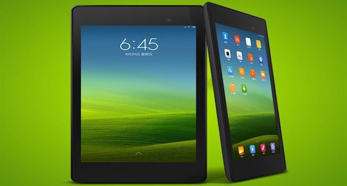 MIUI tablet