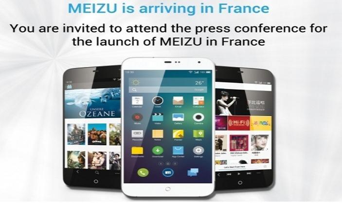 Meizu invito francia