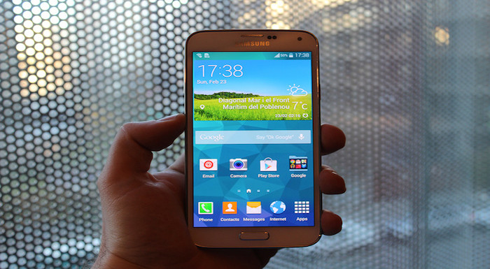 Samsung Galaxy S5 TouchWiz