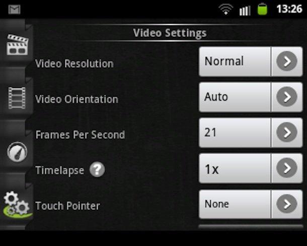 Come filmare lo schermo Android