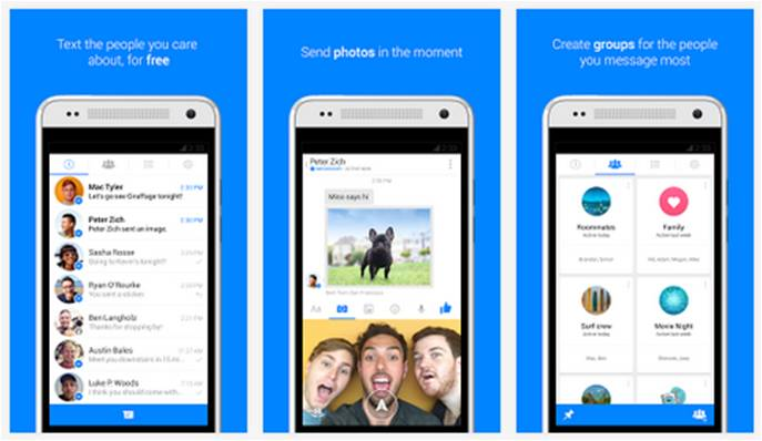 Facebook Messenger su Android