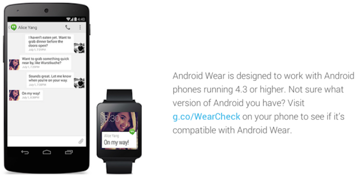 Android-Wear-compatibilità