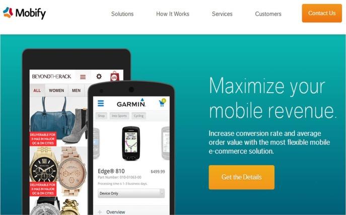 Come creare un sito web ottimizzato su Android con Mobify