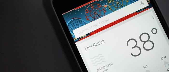 Schede Google Now su smartphone