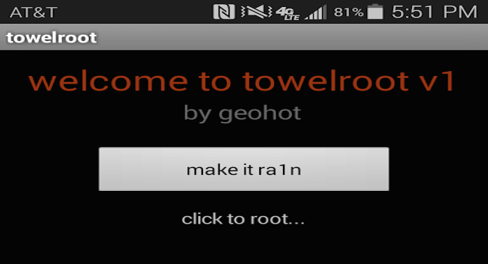 Towelroot-Geohot