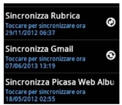 disattivare Gmail su Android