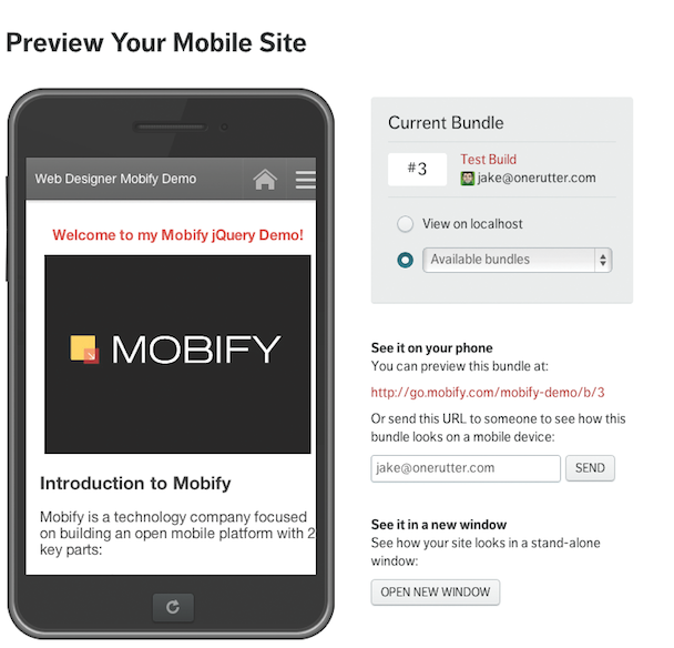 mobify Android