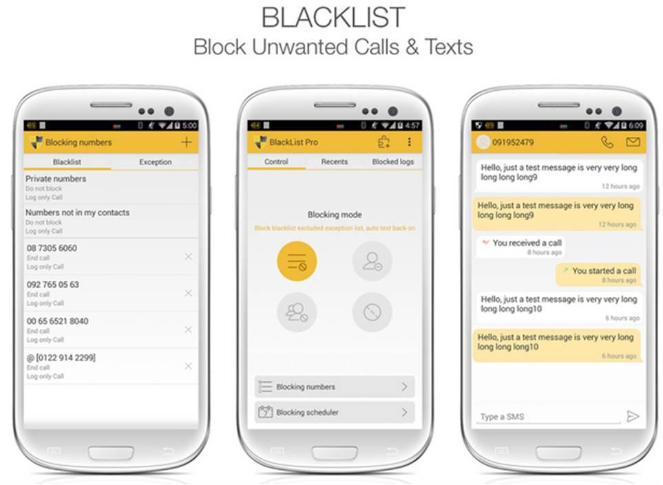 Come creare blacklist su Android