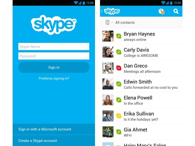 Come fare videochiamate con Skype su Android