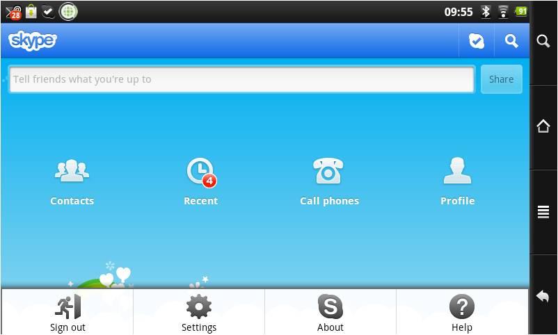 Come trovare contatti Skype su Android