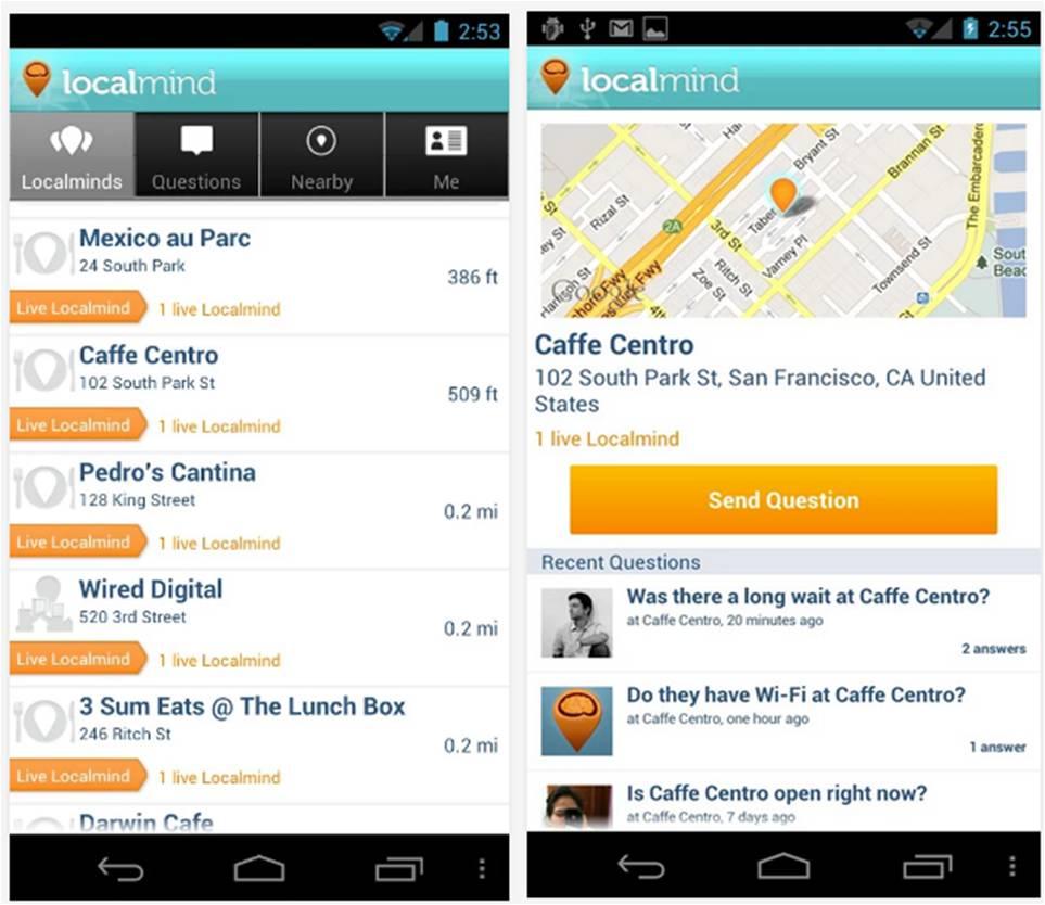 Localmind migliori applicazioni Android per viaggiare