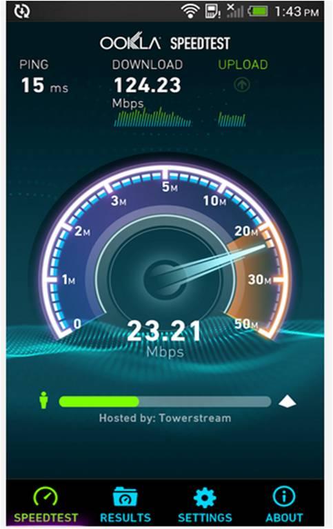 Speedtest.net Migliori utility Android