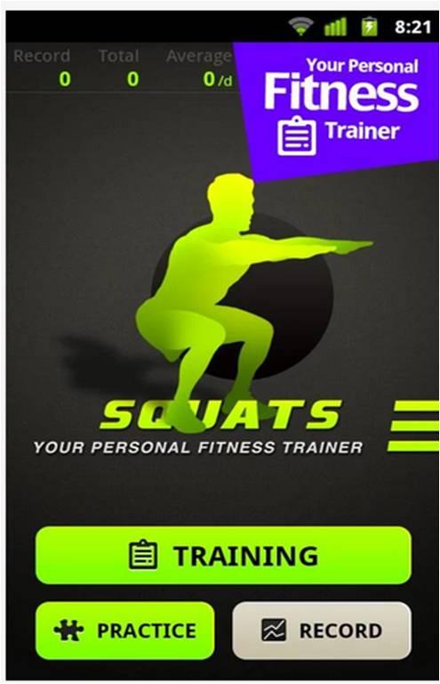 Squats migliori applicazioni Android fitness
