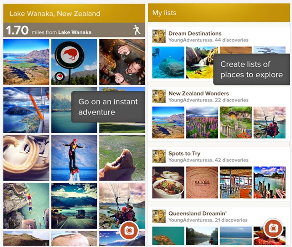 Trover migliori applicazioni Android per viaggiare