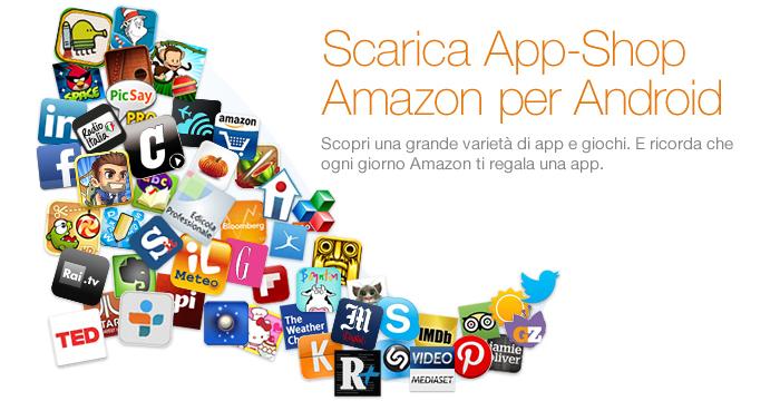 Amazon app shop in offerta regalo 38 app android dal for Offerta buoni regalo amazon