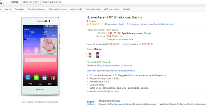 huaweiascendp7amazon