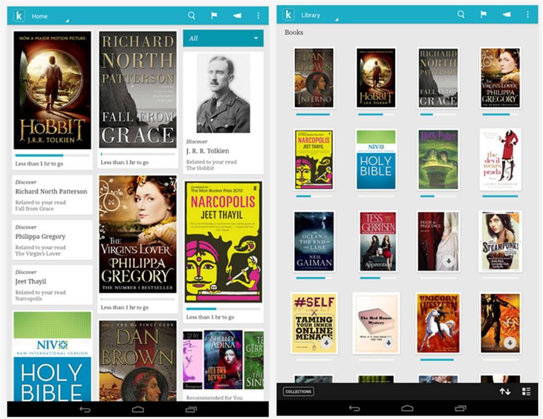 Kobo migliori lettori di e-book per Android