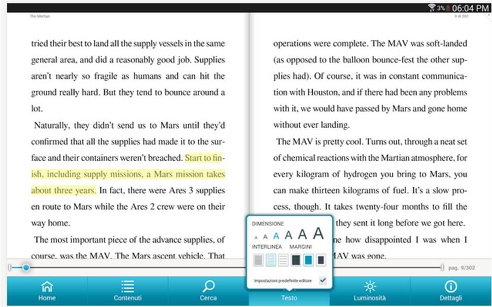 Nook migliori lettori di e-book per Android
