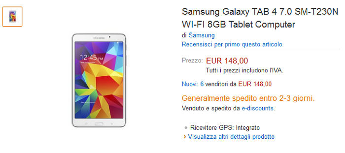 Amazon-Fire-HD-7-vs-Samsung-Galaxy-Tab-4-7.0-specifiche-tecniche-e-prezzi-a-confronto-6