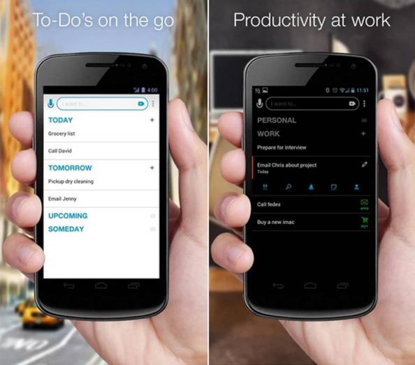 Any.do applicazioni Android ufficio