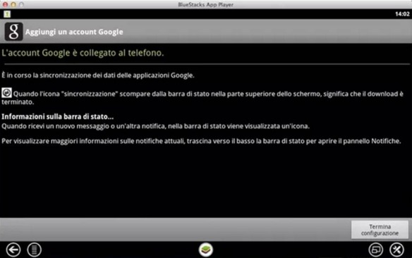 BlueStacks come emulare Android su Mac