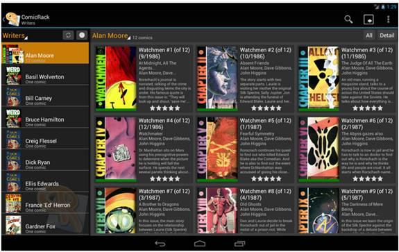 ComicRack Free applicazioni Android per leggere manga e fumetti