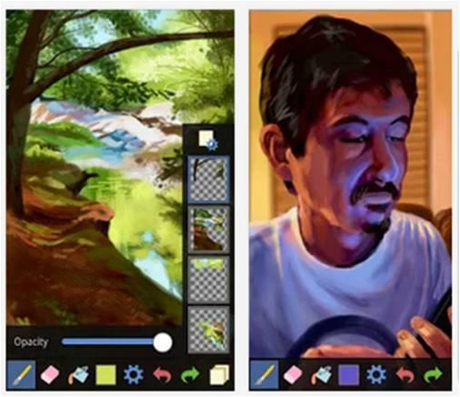 Fresco Paint Lite applicazioni Android per dipingere
