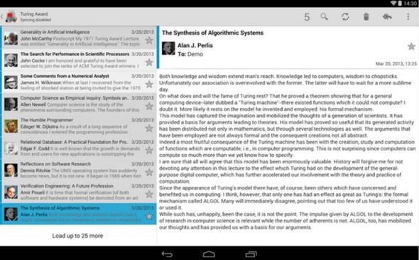 K-9 Mail applicazioni Android ufficio