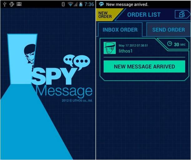 SPY Message applicazioni spia Android
