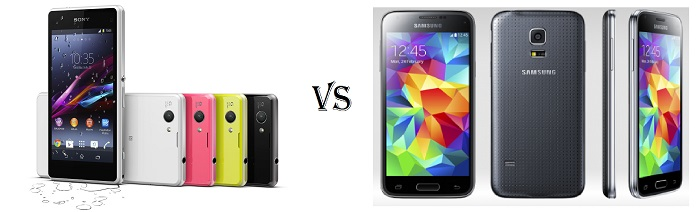 Samsung Galaxy S5 Mini vs Sony Xperia Z1 Compact ...