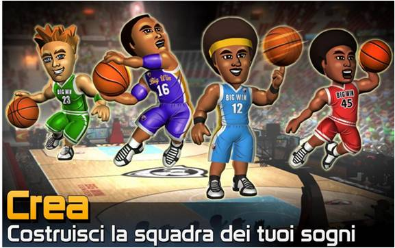 Big Win Basketball giochi di basket per Android