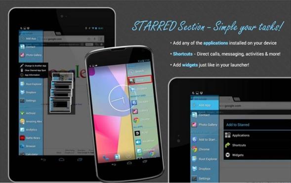 Come passare da un'applicazione all'altra con Android con Swapps