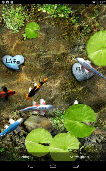 Le migliori 5 app pi vendute per gli sfondi animati su for Sfondi animati pesci