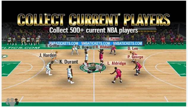 NBA Battle in The Paint giochi di basket per Android
