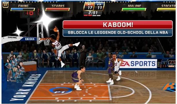 NBA JAM giochi di basket per Android
