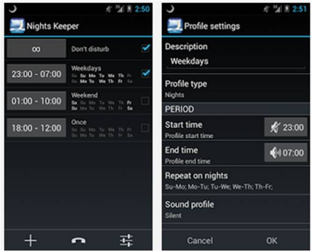Nights Keeper Non Disturbare Android