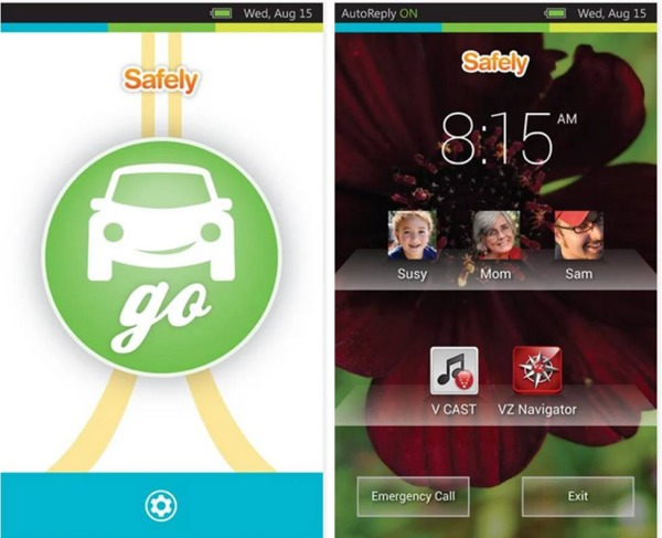 Safely Go applicazioni Android auto
