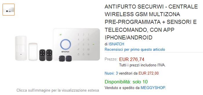 SecurWi-iSnatch-kit-di-sistema-di-allarme-wireless-di-GBC-con-app-Android-5